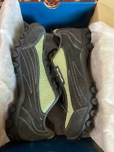 Brand New Forte Women Cycling Shoes Black/Green Size UK39 (US 6.5)