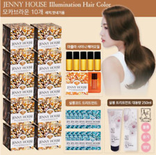 Jenny House Illumination Hair Color Package Hair dye 10boxes Made in Korea