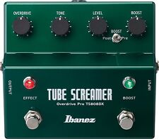 IBANEZ TS808DX Tube Screamer Guitar Effect Pedal Overdrive Booster