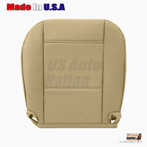 Driver Bottom Leather Seat Cover Fits 2001 2002 2003 2004 2005 BMW 325I In Tan