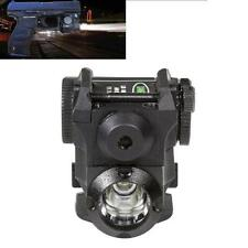Tactical Green Dot Laser Sight Scope with LED Flashlight Combo Fit 20mm Rail