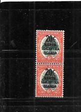 Kenya,Uganda & Tanzania Sc#88 1941 20c Overprint Mnh-Mint Old Wwii Stamp Pair