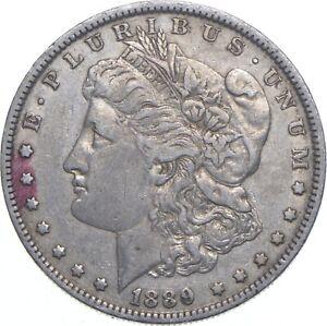 Early - 1889-O Morgan Silver Dollar - 90% US Coin *804