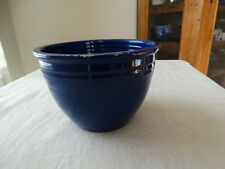 Vintage Fiesta Ware Cobalt Blue #3 Mixing Bowl No Rings Condition Issues