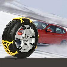 2Pcs / Wheel Winter Truck Car Snow Chain Tire Anti-skid Belt Easy Installation