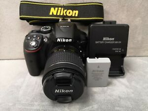 Nikon D5300 24.2MP DSLR with AF-P 18-55mm Lens - Nearly new - 45 shutter count