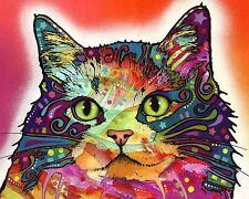 Ragamuffin Dean Russo Animal Contemporary Cat Print Poster 8x10