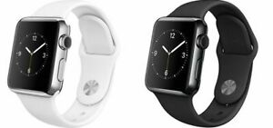 Apple Watch Series 2 38MM 42MM - Stainless Steel   Damaged - Bad LCD Good Glass