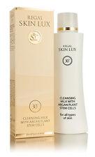 Regal Skin Lux, Leche limpiadora con Argán para todo tipo de piel 30+