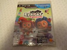 Sony PS3 PlayStation Move EyePet Eye Pet & Friends Video Game