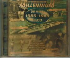 CD - MILLENNIUM 1985 - 1989 - 36 HITS / 2-CD ALBUM #C68#
