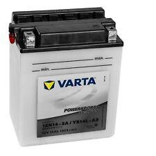 Varta Powersports Motorrad Batterie 51411 YB14L-A2 514011014A514 12V 14Ah
