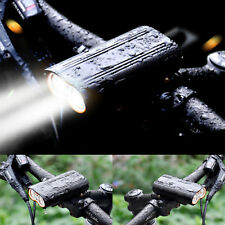 Super Bright MTB Bike Cycling Front Light USB Rechargeable T6 LED Waterproof UK