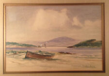 Signed Original Watercolor painting seascape by Peter Macgregor Wilson
