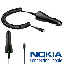 100% Genuine Nokia Lumia 510 600 700 800 900 920 1020 Micro USB Car Charger DC-6