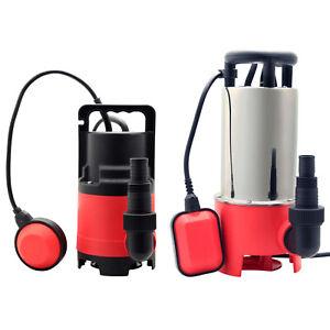Grafner® Schmutzwasserpumpe Tauchpumpe Brunnenpumpe Gartenpumpe Pumpe 20.000l/h