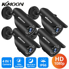 1-4PACK KKMOON 1080P Outdoor Security CCTV Camera 3.6mm Lens Night Vision NTSC