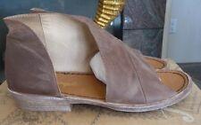NIB Free People 'Mont Blanc' Asymmetrical Sandal shoes Retail: $168 New Color!
