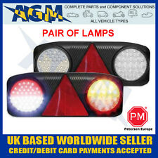 Peterson Led Rear Trailer Lamps Stop/Tail/Indicator/Fog/Reverse Lights (Pair)