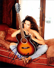 SHANIA TWAIN AUTOGRAPH SIGNED PP PHOTO POSTER 5