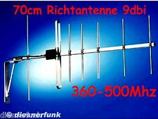 Richtantenne Yagi Antenne 70cm 369-500Mhz  PMR446 Amateurfunk BOS Betriebsfunk