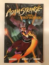 DC Adam Stange The Man Of Two Worlds TPB