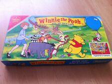 """Winnie THE POOH """"giornata impegnativa RACE GAME"""" Vintage Falcon gioco: COMPLETA"""