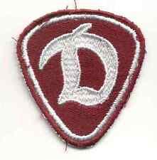 """DDR Volkspolizei, Stasi Textilabzeichen """"Dynamo"""""""