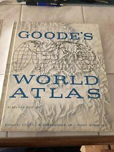 Goode's World Atlas 1957