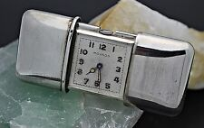 Vintage MOVADO Mini Ermeto Sterling Silver 0.935 Pocket Purse Watch