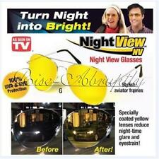 Night View NV As Seen On TV Nightview Yellow Glasses Night Vision Sunglass