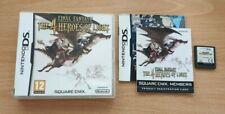 Final Fantasy-héroes de la luz 4-sólo en idioma inglés-Nintendo DS