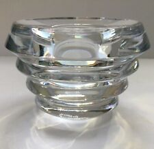 Lenox Clear Lead Crystal Ovations Radiance Votive Contemporary Design 2.75�
