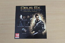DEUS EX - EXTRA DIGITAL CONTENT DLC -  XBOX ONE - Agent Pack Extra Mission +More