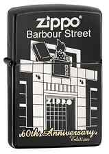 Zippo 60th Anniversary Lighter With Barbour St. Building, #28790, New In Box