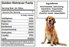 Golden Retriever Facts Magnet