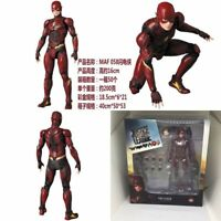 "6"" Mafex 058 DC Comics Justice League The Flash PVC Action Figure New In Box"