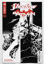 Shadow Batman #4 Dynamite DC Comic 2017 Tan 1:20 Black & White Variant Cover