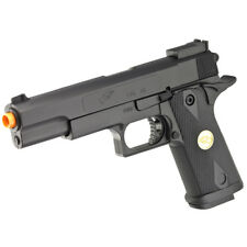 DOUBLE EAGLE M 1911 A1 FULL SIZE AIRSOFT SPRING HAND GUN PISTOL w/ 6mm BBs BB