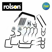 Rolson 30pc Storage Hanging Hanger Hook Set For Garden Shed Garage Bike Hooks