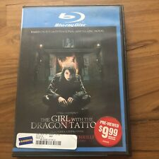 The Girl With the Dragon Tattoo (Blu-ray Disc, 2010) BLOCKBUSTER VIDEO