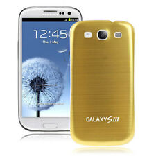 Akkudeckel Samsung i9300 Galaxy S3 LTE  Metall Alu Battery Cover (Gold)