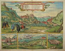 SPAIN.  ALHAMBRA  BRAUN & HOGENBERG 1598