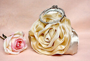 UK Diamonate Bangle Satin Evening Prom Clutch Wedding Bag 30r next day post