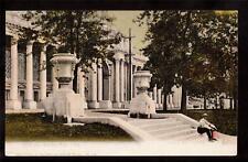 1904 st.louis world's fair exposition art bldg postcard
