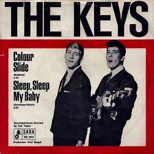 """THE KEYS: Colour Slide / Sleep, Sleep... (´64 / scarce orig. German 7"""")"""