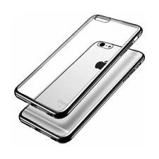Fundas y carcasas metálicas Para iPhone 7 color principal negro para teléfonos móviles y PDAs
