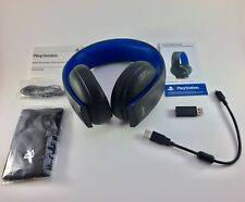 Sony PlayStation Gold Wireless Stereo Headset for PS4, PS3 & PS Vita, (Full Set)