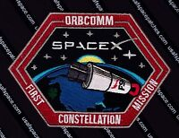 "ORBCOMM AUTHENTIC SPACEX FALCON 9 - 1st Constellation Mission - NEW - 5"" - PATCH"