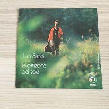 """Lucio Battisti _ La Canzone del Sole / Anche Per Te _ Vinile 45giri 7"""" _ 1971"""